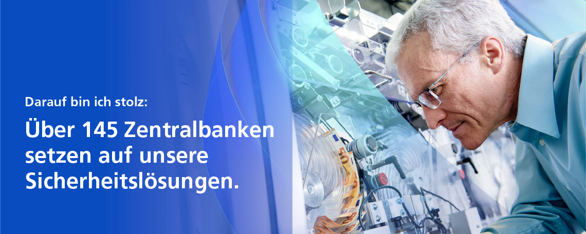 Headerbild Giesecke+Devrient Currency Technology GmbH - Softwareentwickler Banknotenbearbeitungssysteme (m/w/d) - 7443865